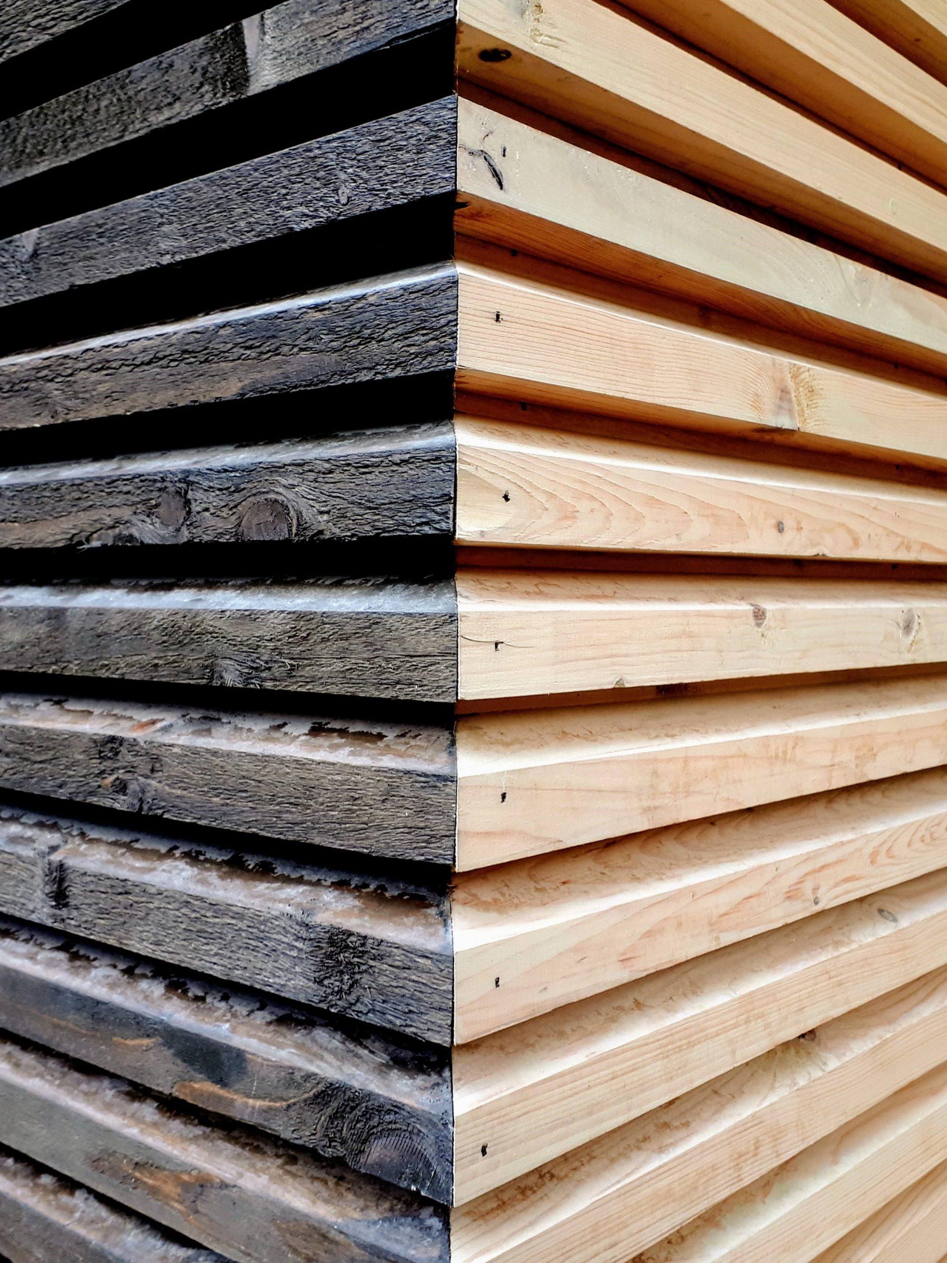 Profiilne fassaad puidust Eldur Puit